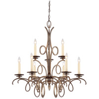 Savoy House Thyme 9 Light Chandelier in Oxidized Silver 1-6772-9-128 photo thumbnail