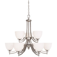 Savoy House Thornbury 9 Light Chandelier in Pewter 1-6804-9-69 photo thumbnail