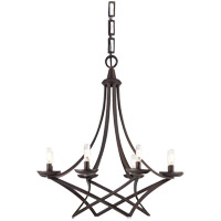 Windsung 8 Light 27 inch English Bronze Chandelier Ceiling Light