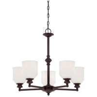 Savoy House 1-6837-5-13 Melrose 5 Light 24 inch English Bronze Chandelier Ceiling Light