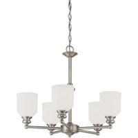 Savoy House 1-6837-5-SN Melrose 5 Light 24 inch Satin Nickel Chandelier Ceiling Light