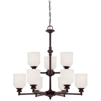 Melrose 9 Light 26 inch English Bronze Chandelier Ceiling Light