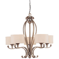 Savoy House Varna 5 Light Chandelier in Gold Dust 1-690-5-122