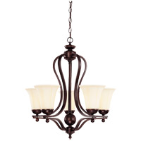 Savoy House Vanguard 5 Light Chandelier in English Bronze 1-6900-5-13
