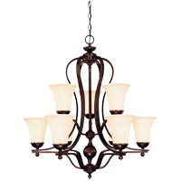 Vanguard 9 Light 30 inch English Bronze Chandelier Ceiling Light