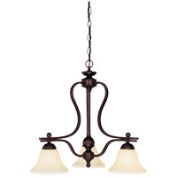 Savoy House Vanguard 3 Light Chandelier in English Bronze 1-6911-3-13 photo thumbnail