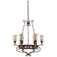 Savoy House Astor 6 Light Chandelier in Gilded Bronze 1-7010-6-131