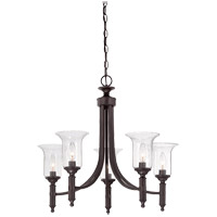 Savoy House 1-7130-5-13 Trudy 5 Light 25 inch English Bronze Chandelier Ceiling Light