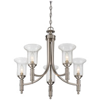 Savoy House 1-7130-5-SN Trudy 5 Light 25 inch Satin Nickel Chandelier Ceiling Light alternative photo thumbnail