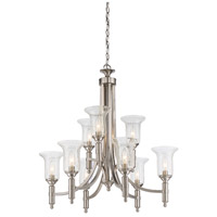 Savoy House 1-7131-9-SN Trudy 9 Light 28 inch Satin Nickel Chandelier Ceiling Light alternative photo thumbnail