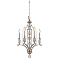 Savoy House Filament 4 Light Chandelier in Silver Dust 1-7150-4-272 photo thumbnail
