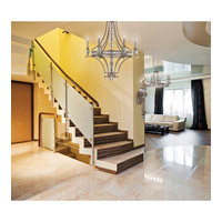 Savoy House Filament 6 Light Chandelier in Silver Dust 1-7151-6-272 alternative photo thumbnail