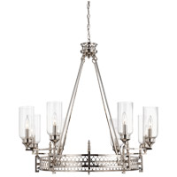 Savoy House Coronado 8 Light Chandelier in Polished Nickel 1-7171-8-109 photo thumbnail