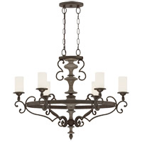 Savoy House Strathmore 6 Light Chandelier in Century Bronze 1-741-6-09