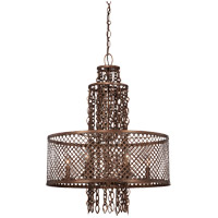 Savoy House Barclay 6 Light Chandelier in Guilded Bronze 1-7600-6-131
