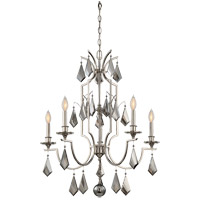 Savoy House 1-875-5-109 Ballard 5 Light 27 inch Polished Nickel Chandelier Ceiling Light