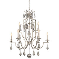 Ballard 9 Light 33 inch Polished Nickel Chandelier Ceiling Light