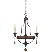 Savoy House 1-8900-3-41 Kelsey 3 Light 21 inch Durango Chandelier Ceiling Light