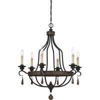 Savoy House 1-8901-6-41 Kelsey 6 Light 29 inch Durango Chandelier Ceiling Light