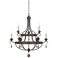 Savoy House Kelsey 9 Light Chandelier in Durango 1-8902-9-41