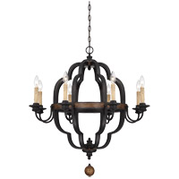 Kelsey 8 Light 31 inch Durango Chandelier Ceiling Light