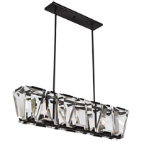 Sardis 7 Light 42 inch Oiled Bronze Linear Chandelier Ceiling Light