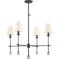 Savoy House 1-9000-4-88 Lorainne 4 Light 30 inch Oxidized Black Chandelier Ceiling Light