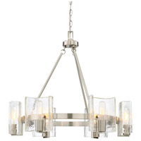 Savoy House 1-9050-6-SN Handel 6 Light 27 inch Satin Nickel Chandelier Ceiling Light