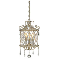 Signature 3 Light 14 inch Aurora Mini Chandelier Ceiling Light