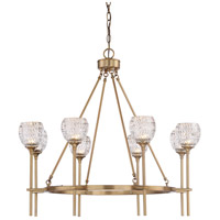 Garland 8 Light 32 inch Warm Brass Chandelier Ceiling Light