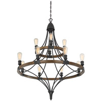 Savoy House 1-9112-12-68 Turing 12 Light 36 inch Whiskey Wood Chandelier Ceiling Light alternative photo thumbnail