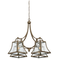 Savoy House Belle 4 Light Chandelier in Chateau Linen 1-921-4-12