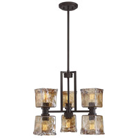 Tallin 6 Light 20 inch English Bronze Chandelier Ceiling Light