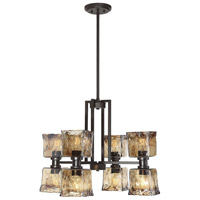 Tallin 8 Light 26 inch English Bronze Chandelier Ceiling Light