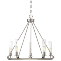 Hasting 5 Light 26 inch Brushed Pewter Chandelier Ceiling Light