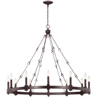Adria 12 Light 39 inch English Bronze Chandelier Ceiling Light
