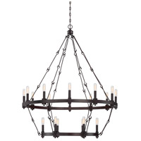 Adria 18 Light 39 inch English Bronze Chandelier Ceiling Light