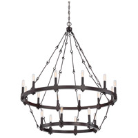 Savoy House 1-932-18-13 Adria 18 Light 39 inch English Bronze Chandelier Ceiling Light alternative photo thumbnail