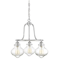 Savoy House 1-9403-3-11 Allman 3 Light 20 inch Polished Chrome Chandelier Ceiling Light alternative photo thumbnail
