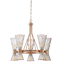 Savoy House Courtland 10 Light Chandelier in Rose Gold 1-950-10-58