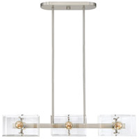 Savoy House 1-9503-6-SN Cardella 6 Light 32 inch Satin Nickel Island Chandelier Ceiling Light alternative photo thumbnail