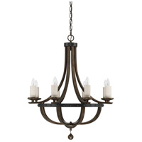 Savoy House 1-9531-8-196 Alsace 8 Light 32 inch Reclaimed Wood Chandelier Ceiling Light alternative photo thumbnail