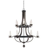 Savoy House Alsace 12 Light Chandelier in Reclaimed Wood 1-9532-12-196