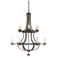 Savoy House 1-9532-12-196 Alsace 12 Light 38 inch Reclaimed Wood Chandelier Ceiling Light alternative photo thumbnail