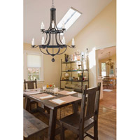 Savoy House Alsace 12 Light Chandelier in Reclaimed Wood 1-9532-12-196 alternative photo thumbnail