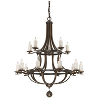 Savoy House 1-9533-15-196 Alsace 15 Light 48 inch Reclaimed Wood Chandelier Ceiling Light alternative photo thumbnail