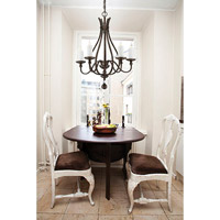 Savoy House Alsace 5 Light Chandelier in Reclaimed Wood 1-9537-5-196 alternative photo thumbnail
