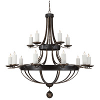 Savoy House Alsace 15 Light Chandelier in Reclaimed Wood 1-9544-15-196