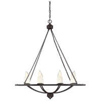 Hampshire 8 Light 34 inch English Bronze Chandelier Ceiling Light