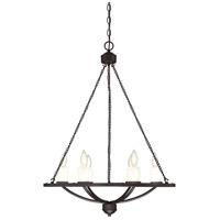 Savoy House 1-9701-6-13 Hampshire 6 Light 26 inch English Bronze Chandelier Ceiling Light